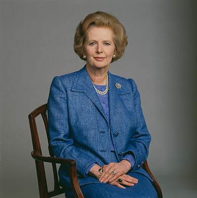 Margaret Thatcher, prime minister 1979-90